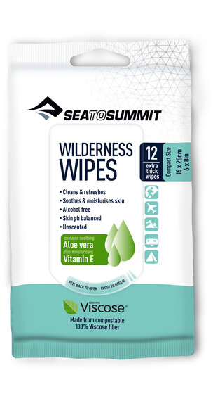 Sea to Summit Wilderness Wipes Compact